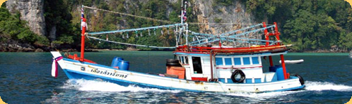 Big game fishing Boat